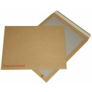 Manilla Hard Card Board Backed Envelopes Brown Please Do Not Bend A4-C4 A5-C5