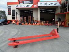 Extra Long Pallet Jacks $850+Gst (2.4m)- 2500kg - Our Factory, Great value !!