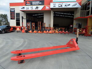Extra Long Pallet Jack, (2.4m)- 2500kg - Our Factory, Extra heavy duty  !!