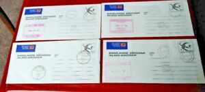 South West Africa 1978/79 Military Interest Postal Stationery