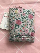 Cath Kidston Hedge Rose Foldaway Shopper Tote Bag New
