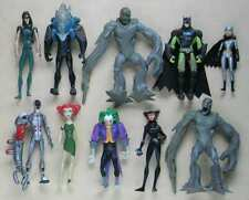 "Batman EXP 5"" figure 10 Pcs Joker+Metal Head+Mr Freeze+Catwoman+Batgirl+Clayface"