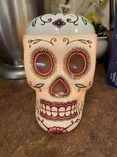 Scentsy Skull Day Of The Dead Calavera Sugar Skull Full Size Wax Warmer