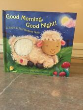 Children's touch and feel book / Bed time book
