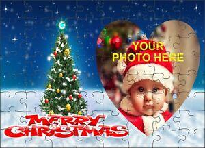 Personalised Christmas photo Jigsaw