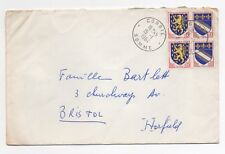1964 FRANCE Cover CORBIE SOMME to BRISTOL GB