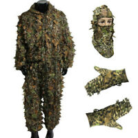 Woodland 3D Camouflage Leaf Face Mask for Hunting Jungle Stealth Ghillie Suit
