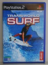 TRANSWORLD SURF - PLAYSTATION 2 - PAL ESPAÑA - COMPLETO