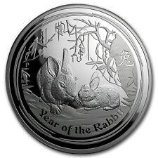 2011 Australia 1 kilo Silver Year of the Rabbit Proof (DMG Box)