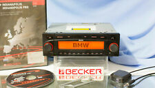 Becker BMW Indianapolis 7969 Navi CD Radio Komplett Set mit jügster Software