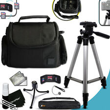 Premium Well Padded CASE and 60 in Tripod KIT f/ FUJI FinePix F800EXR
