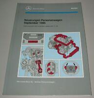 Werkstatthandbuch Mercedes R 129 W 140 Klima AHK Kraftstoffanlage GRA Motor 1995