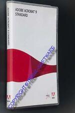 Adobe Acrobat 9 Standard Windows deutsch Vollversion Orginal-DVD -incl MwSt.