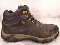 Merrell Moab Rover Men's Size 9.5 Mid Waterproof Brown Hiking Boots J21277