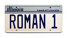 The Great Outdoors | Dan Aykroyd | ROMAN 1 | STAMPED Replica Prop License Plate