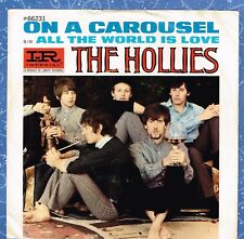 THE HOLLIES On A Carousel P/S b/w All The...45 RPM 1967 Imperial 66231 Vinyl EX!