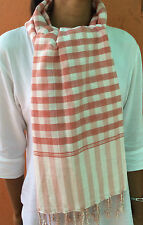 Krama coton traditionnel Echarpe Khmer mixte Cambodge coton Tissé main 20