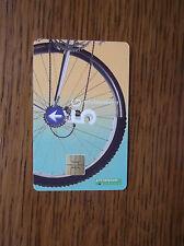 NETHERLANDS ptt telecom 5 GUILDERS rear wheels of a mountain bike & a road bike