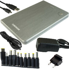 Increíble cargador 59200mWh DC 60W 2.1A PowerBank Laptop Tableta Phone PowerNeed