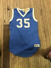 Vintage 70s Russell Athletic Basketball Jersey Size Medium Rare Nylon Usa Made