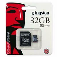 Kingston 32GB Class 4 Micro SD SDHC Flash Memory Card 32 GB Retail