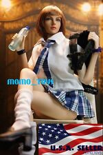 """1/6 Sexy Student Uniform Set B For 12"""" Hot Toys PHICEN Female Figure Doll ❶USA❶"""