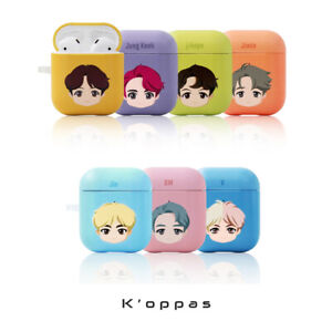 Official K-pop BTS AirPods Hard Case Cover + Free Gift 100% Authentic