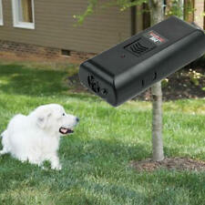 Ultrasonic Aggressive Barking Anti-Bark Stopper Deterrent Train Dog Pet Repeller