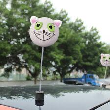 1x Lovely Cute White Cat Car Antenna Ball Car Aerial Topper Decor Universal
