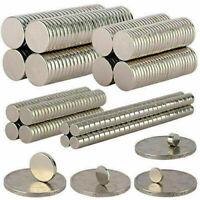 5-100Pcs Super Strong Round Disc Magnets Rare-Earth Neodymium Magnet N35/N50/N52