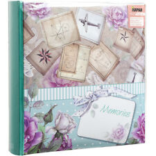 10 x 15 cm Memo Photo Album for 200 Photos 6X4'', Memories Art Print Cover