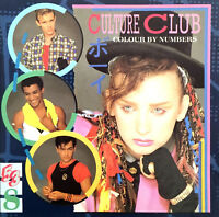 Culture Club ‎CD Colour By Numbers - Europe (EX/M)