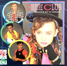 Culture Club CD Colour By Numbers - Europe (EX/M)