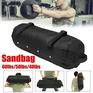 40/50/60lbs Power Sand Bag Cross Weight Lift Sandbag Training Fitness MMA