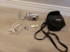 Canon PowerShot A630 8MP Digital Camera 4x Zoom W/Case Memory Card Case cord