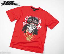 Magliette, maglie e camicie rosso grafico per bambini dai 2 ai 16 anni