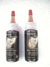 2 x TACTICAL HONEY GUN OIL  (Tactical Honey is a 2-in-1 Oil and Cleaner..)