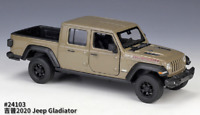 Welly 1:27 2020 Jeep Gladiator Pickup Green Diecast Model Racing Car NEW BOXED