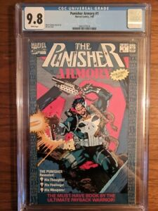 Punisher Armory #1 CGC 9.8 Jim Lee Cover!