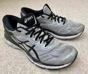 Size UK 10 - ASICS GEL-Kayano 24 - Silver/Black/Mid Grey - Worn