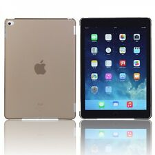 Hardcase Glossy Neon Schwarz für Apple iPad Air 2 2014 Hülle Case Cover Schale