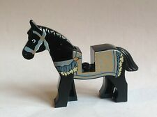 Lego Prince of Persia Black Horse with Blanket Pattern from Set 7569