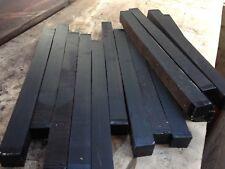 Ebony Squares Woodturning/cue Blanks 38mm x 38 x 490mm