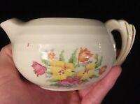 Vintage Porcelain Petit Point with Gold Trim Creamer #823E1