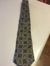 Geoffrey Beene Green Paisley Men's Tie