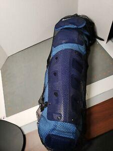 """NIKE Men's Vapor Baseball Catchers Leg Shin Guards Size 17"""" Blue retail $350"""