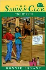 Tight Rein (Saddle Club)-ExLibrary