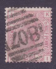 SG141  2 1/2d Rosy Mauve KI  Plate 13  Totnes Pmk  Cat £60