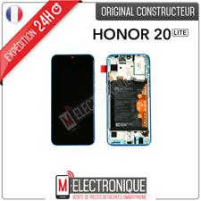 ECRAN LCD BLEU PHANTOM + BATTERIE ORIGINAL HUAWEI HONOR 20 LITE