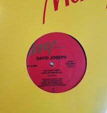 """David Joseph - You Can't Hide (Your Love From Me) 12"""" (Mango) Larry Levan"""